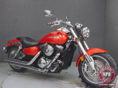 2005 Kawasaki Vulcan VN1600 MEAN STREAK Red for sale