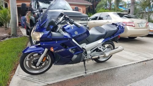 2005 Yamaha FJR Blue for sale craigslist