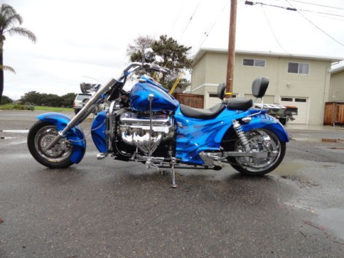 2005 Boss Hoss 57 Chevy trike Burgundy for sale   Used motorcycles