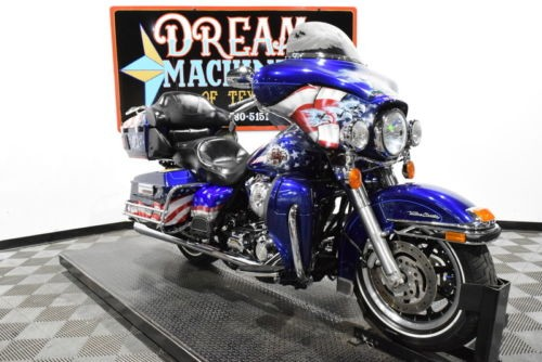2006 Harley-Davidson FLHTCUI - Electra Glide Ultra Classic with Trailer -- Cobalt Pearl with Custom Graphics for sale craigslist