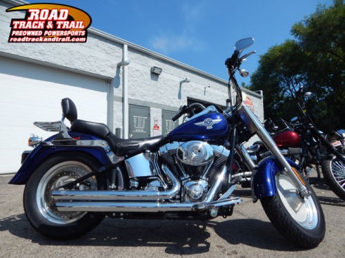 2006 Harley-Davidson FLSTF - Softail® Fat Boy® -- Blue for sale craigslist