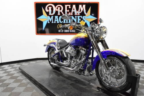 2006 Harley-Davidson FLSTFSE2 - Screamin Eagle Fat Boy CVO -- Yellow craigslist