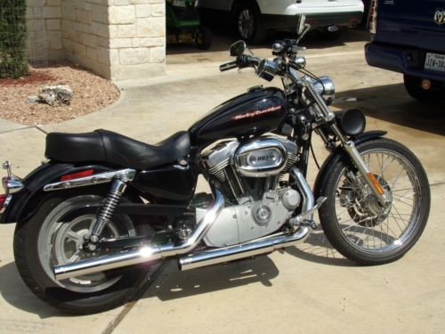 2006 Harley-Davidson Sportster 883C Black for sale