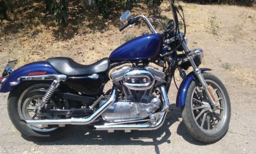 2006 Harley-Davidson Sportster Blue for sale craigslist
