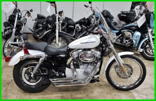 2006 Harley-Davidson Sportster 883 Custom Glacier White Pearl for sale
