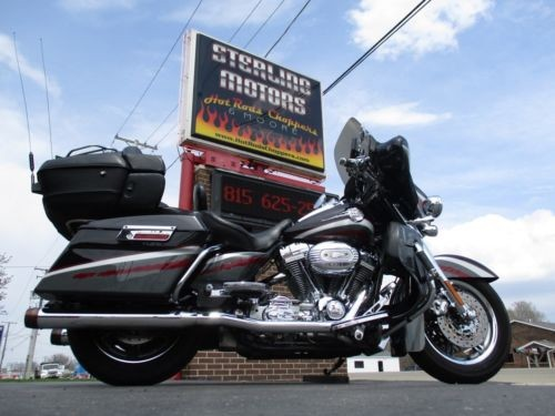 2006 Harley-Davidson Touring Black Candy Crimson / Charcoal Slate for sale craigslist