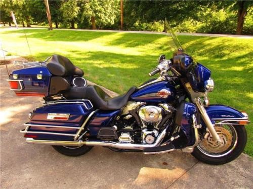 2006 Harley-Davidson Touring ULTRA CLASSIC Blue for sale craigslist