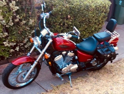2006 Honda Shadow Burgundy for sale craigslist