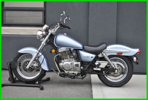 2006 Suzuki Gz250 250 Blue photo