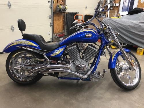 2006 Victory Arlen Ness Signature Series Blue for sale