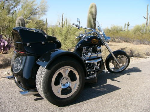 2007 Custom Built Motorcycles Vemdetta Black photo