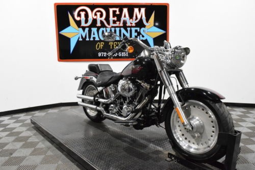 2007 Harley-Davidson FLSTF - Softail Fat Boy Managers Special -- Black craigslist