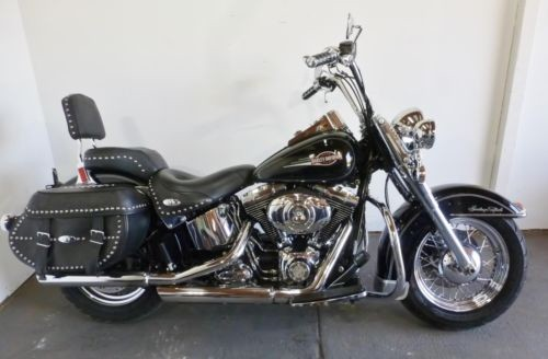 2007 Harley-Davidson Softail HERITAGE SOFTAIL CLASSIC Black for sale