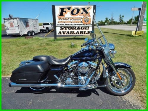 2007 Harley-Davidson Touring FLHRSE Screamin' Eagle® Road King® Black Ice / Pewter Leaf for sale