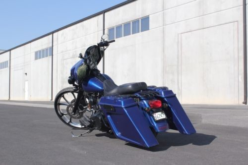 2007 Harley-Davidson Touring Blue for sale craigslist