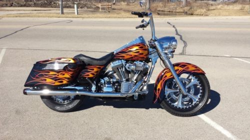 2007 Harley-Davidson Touring Custom Flame Paint for sale