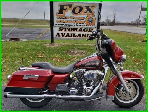 2007 Harley-Davidson Touring Fire Red Pearl / Black Pearl for sale craigslist