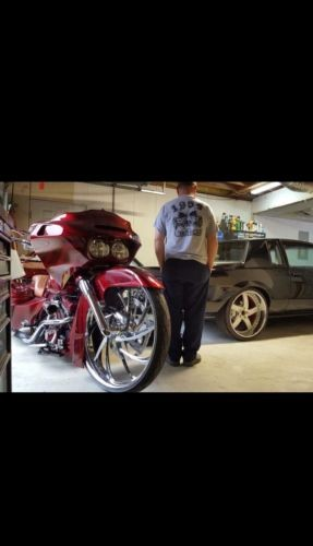 2007 Harley-Davidson Touring Red for sale craigslist