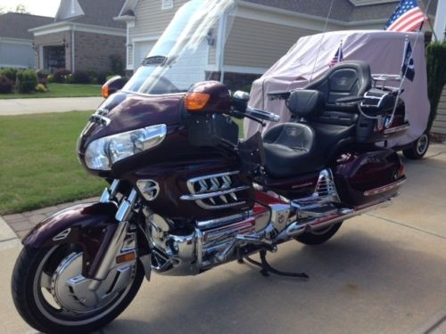 2007 Honda Gold Wing cabernet red craigslist