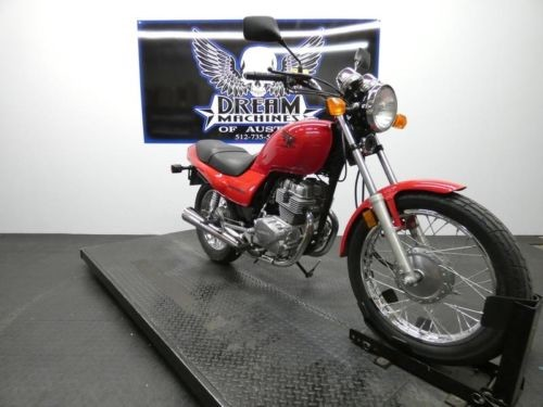 2007 Honda Nighthawk 250 CB250 -- Red for sale