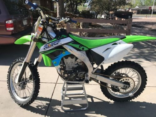 2007 Kawasaki KXF Green for sale craigslist