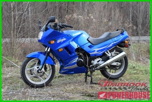 2007 Kawasaki Ninja 250R Blue for sale