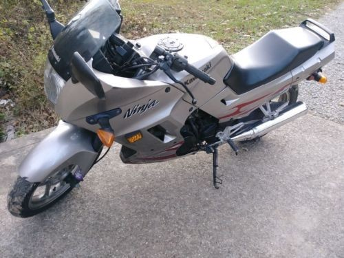 2007 Kawasaki Ninja Silver for sale