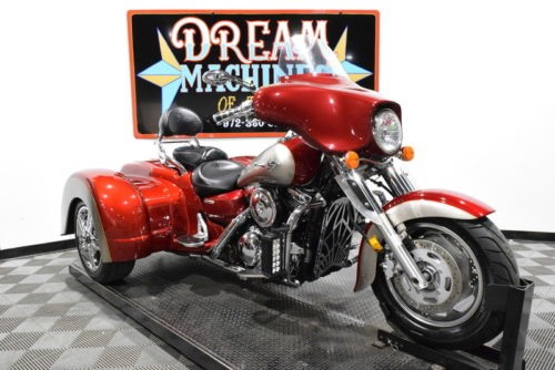 2007 Kawasaki Vulcan 1600 Nomad Trike - VN1600D Managers Special -- Red for sale craigslist