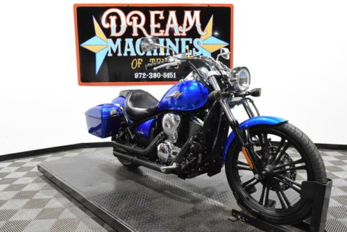 2007 Kawasaki Vulcan 900 Custom Managers Special -- Blue for sale craigslist