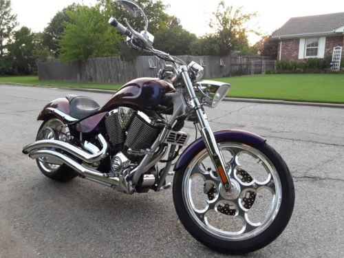 2007 Victory Jackpot by Arlen Ness Chameleon Color Change Paint for sale craigslist