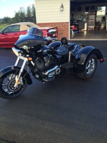 2007 Victory Lehman trike Black for sale