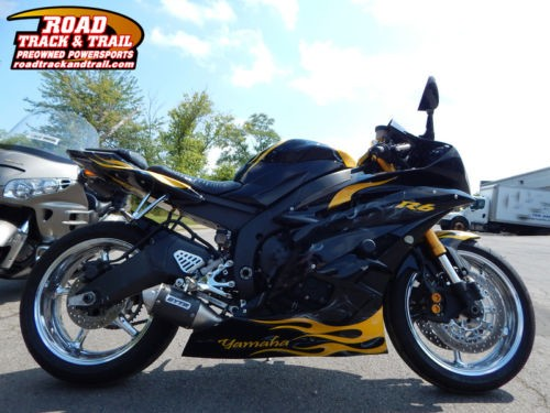 2007 Yamaha YZF-R -- Black for sale