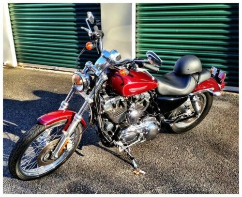 2008 Harley-Davidson Sportster Red for sale craigslist