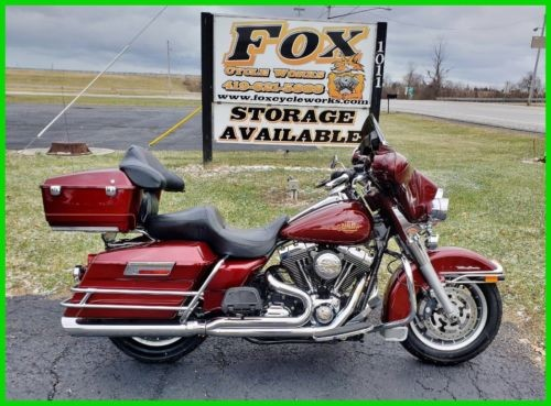 2008 Harley-Davidson Touring Electra Glide Classic Candy Red Sunglo photo