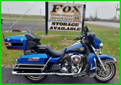 2008 Harley-Davidson Touring Ultra Classic® Electra Glide® Pacific Blue / Vivid Black for sale craigslist