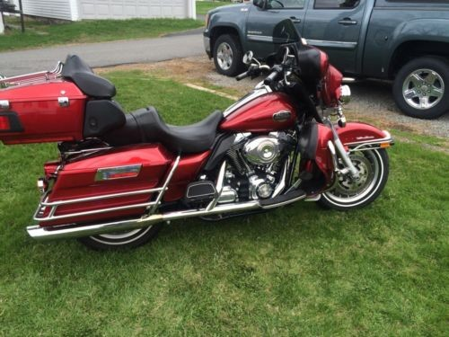2008 Harley-Davidson Touring Red for sale