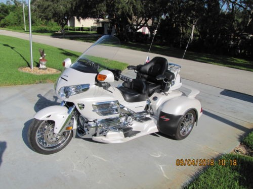 2008 Honda Gold Wing Pearl Alpine White for sale