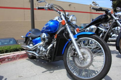 2008 Honda Shadow ULTRA BLUE/FLAME for sale craigslist