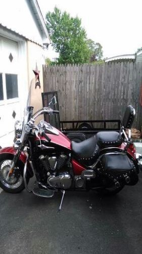 2008 Kawasaki Vulcan Black and Burgundy for sale craigslist