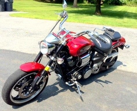 2008 Yamaha Road Star Red for sale craigslist