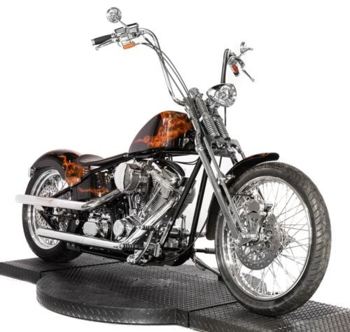 2009 American Classic Motors 200 Softail Black with Real Flames craigslist