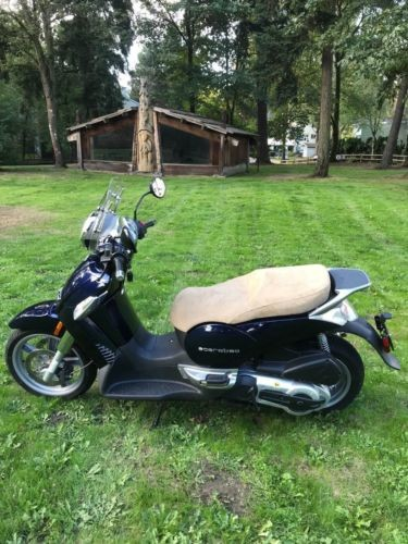 2009 Aprilia Scarabeo 500ie Blue for sale craigslist