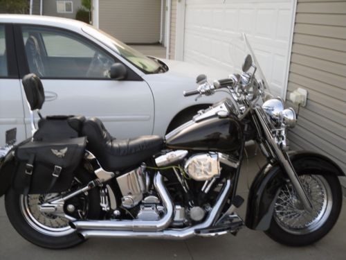 2009 Harley-Davidson AVSE Custom Soft Tail black for sale craigslist