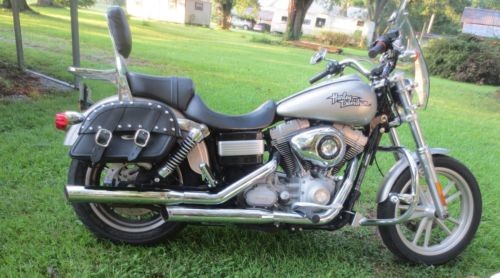 2009 Harley-Davidson Dyna silver for sale