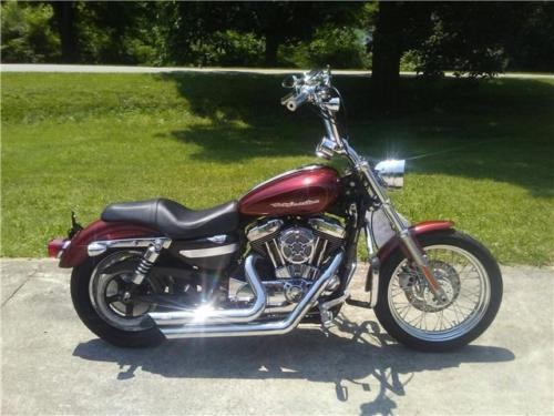 2009 Harley-Davidson Sportster -- Red photo