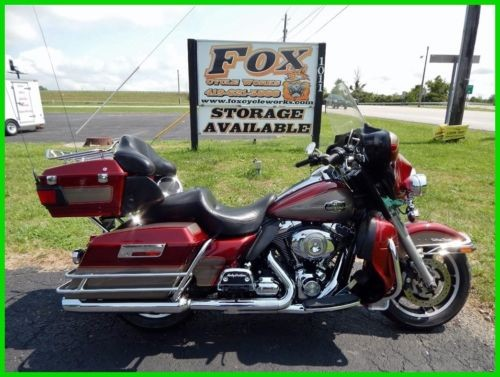 2009 Harley-Davidson Touring Ultra Classic® Electra Glide® Red Hot Sunglo / Smokey Gold for sale craigslist