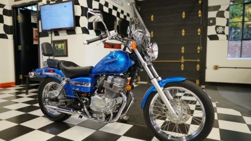 2009 Honda Rebel Candy Apple Blue for sale
