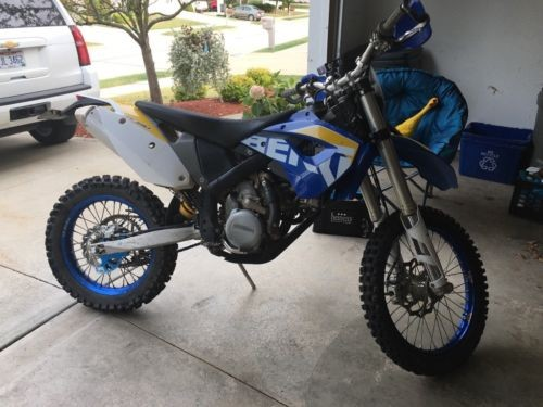 2009 Husaberg FE street legal for sale craigslist