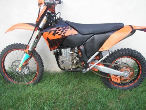 2009 KTM 400 xcw Orange for sale craigslist