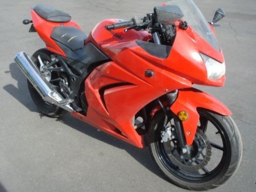 2009 Kawasaki 250 Ninja EZ FINANCE, YOUR JOB IS YOUR CREDIT Red for sale